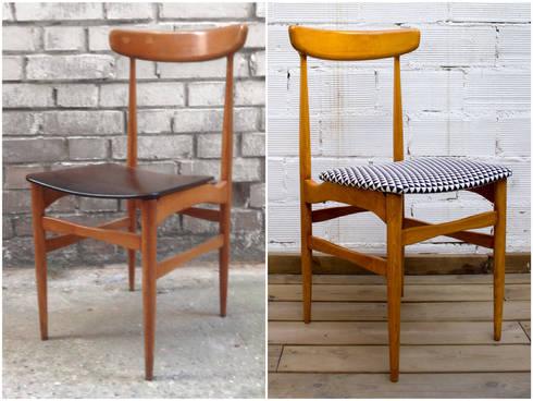 Muebles restaurados de studio alis homify - Sillas anos 60 ...