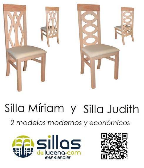 Sillas modernas de sillas de lucena homify - Fabricas de sillas en lucena ...
