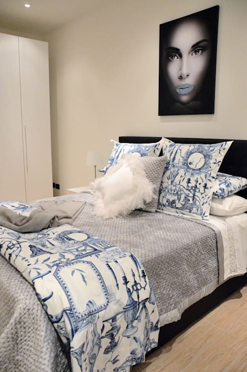 غرفة نوم تنفيذ Loredana Vingelli Home Decor