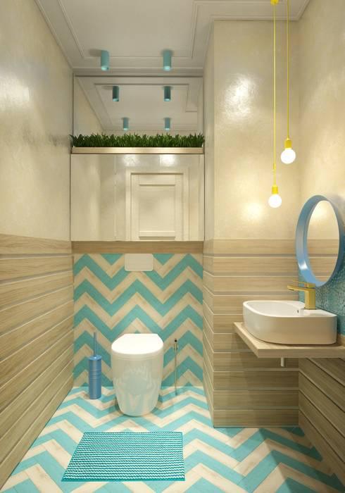 ДЕТСКИЕ САНУЗЛЫ. ПЕНТХАУС: Ванные комнаты в . Автор – Katerina Butenko