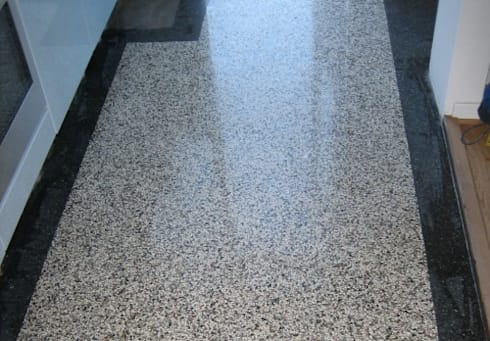 terrazzo vloertegels bij mawi tegels door mawi tegels | homify, Badkamer
