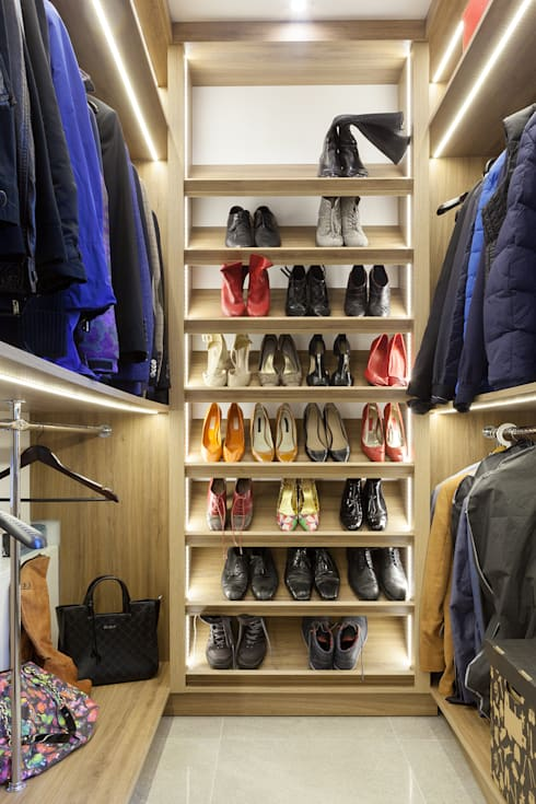 Closets de estilo  por Interior Design Photography Monika Filipiuk