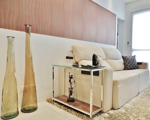 Chácara Inglesa – SP : Salas de estar modernas por Studio LK Arquitetura e Interiores