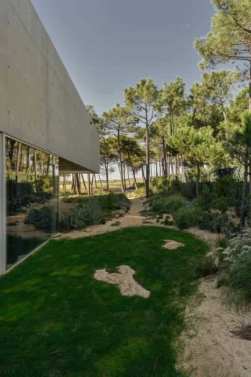 Projekty, minimalistyczne Domy zaprojektowane przez guedes cruz arquitectos