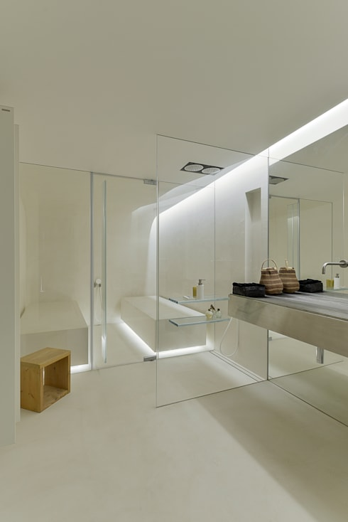 Bathroom by guedes cruz arquitectos
