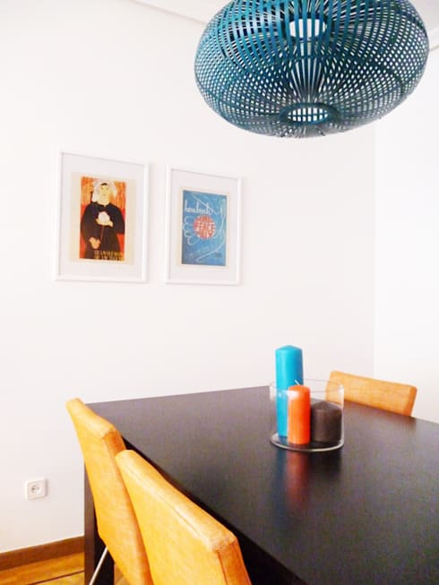 Sala comum: Salas de jantar  por maria inês home style