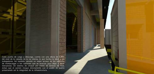 Diseño de bodegas: Bodegas de estilo moderno por Jorge Osorio Arquitecto