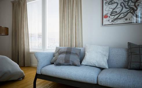 Couch Detail: Quartos mediterrânicos por 3DYpslon