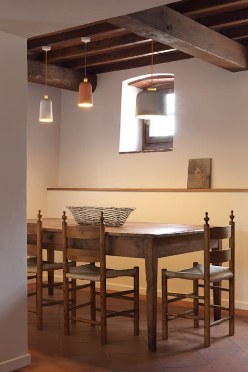 Officine Liquide: modern tarz Yemek Odası