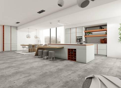 Terracota: Cozinha  por J.Dias