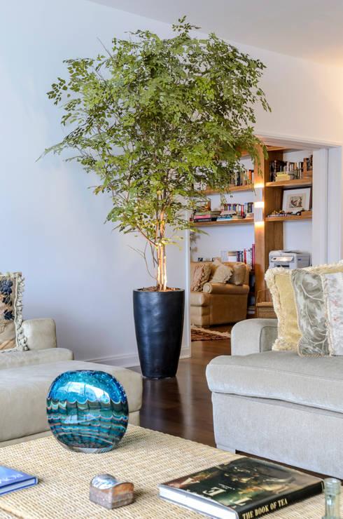 Árvore de Avencão   Residência: Paisagismo de interior  por Svetlana Plantas Preservadas