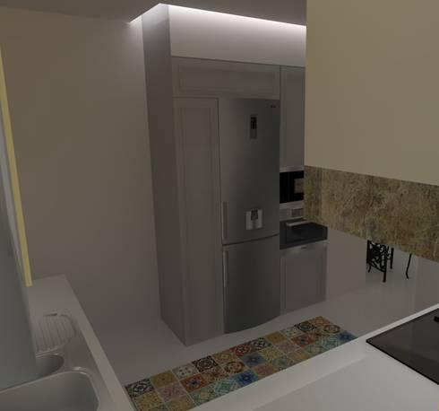 Cozinha 2:   por Quero Fazer Obras - Construção e Reabilitação Lda