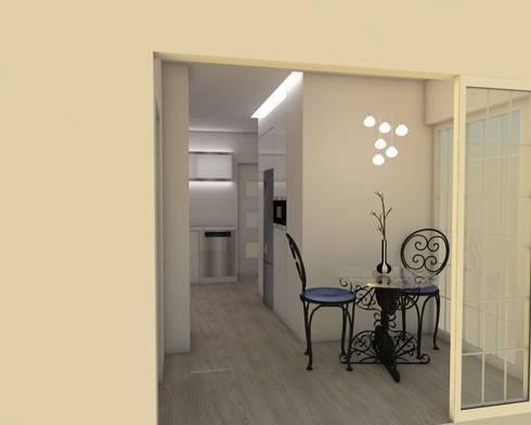 Cozinha 3:   por Quero Fazer Obras - Construção e Reabilitação Lda