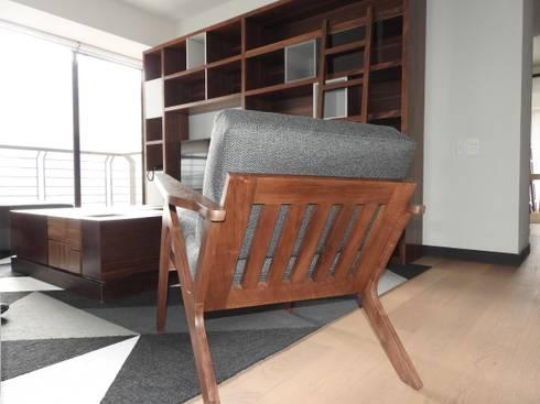 Departamento Be Grand San Angel:  de estilo  por TALLER TAMI