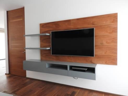 Departamento Bajamares: Salas de estilo moderno por TALLER TAMI