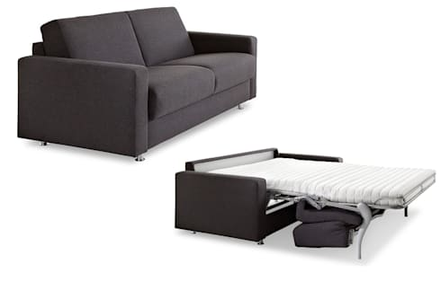 schlafsofa mit matratze und lattenrost hamburg deluxe klassische. Black Bedroom Furniture Sets. Home Design Ideas