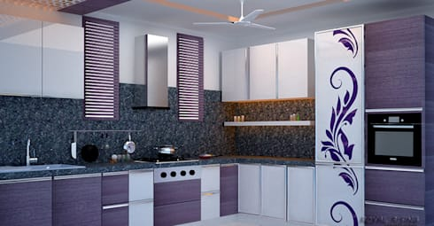 Interior Designs: modern Kitchen by Royal Rising Interiors