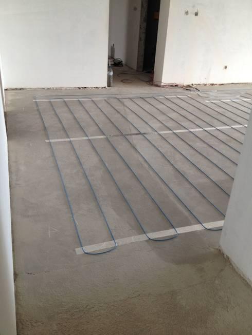 Instala o do sistema directo de piso radiante electrico - Suelo radiante electrico ...