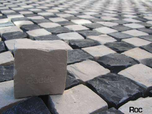 Chess Pavement, Estoril: Terraços  por Roc2c