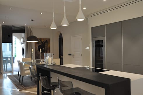 Cozinha Mediterranica:   por Byho Design de Interiores