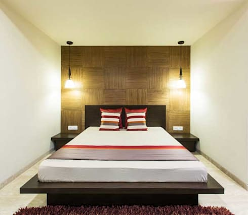 SARNAIK'S: modern Bedroom by Studio Vibes