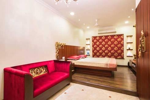 Interior designs: modern Bedroom by Studio Vibes