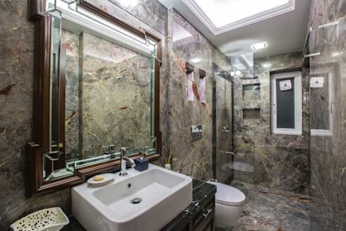 Interior designs: modern Bathroom by Studio Vibes