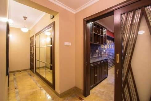 Interior designs:  Corridor & hallway by Studio Vibes