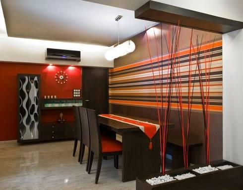 Interior designs: modern Dining room by Studio Vibes