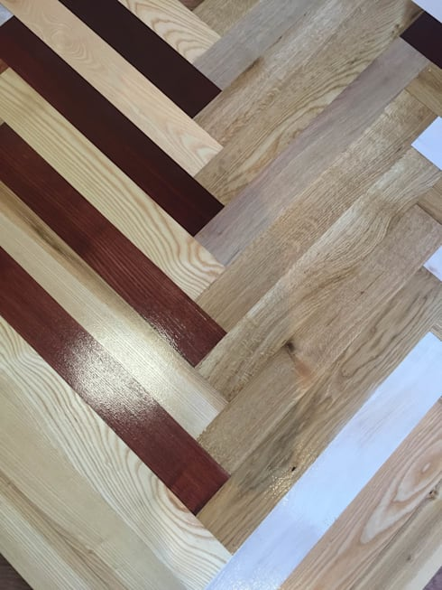 colored wood flooring in glasgow and edinburgh showrooms