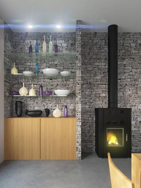 Casa Rodriguez: Livings de estilo clásico por D+D Studio