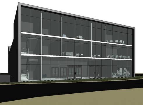 Edifício Multifuncional: Lojas e espaços comerciais  por Luciana Ribeiro Arquiteta