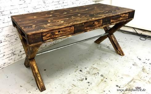 s l loftart paletten esstisch k chen tisch von s l loftart homify. Black Bedroom Furniture Sets. Home Design Ideas