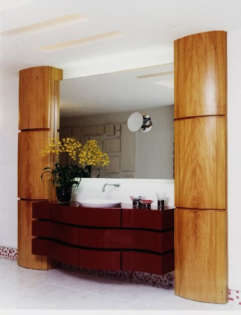 Mobiliário Casa de Banho – Concurso: Casas de banho ecléticas por Luciana Ribeiro Arquiteta