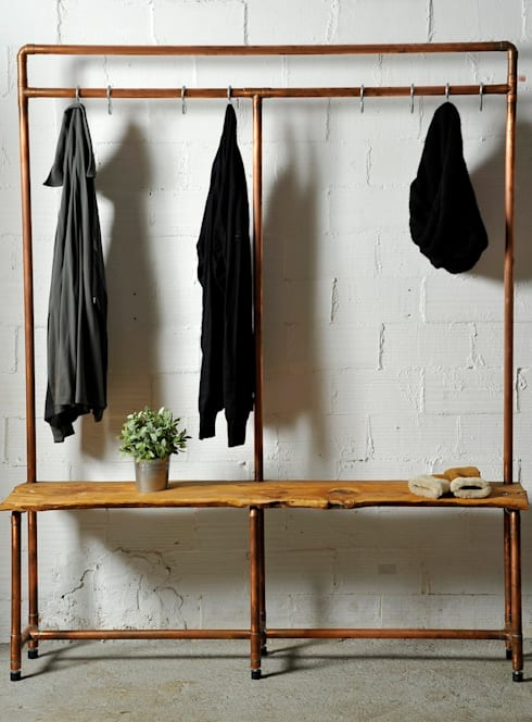 Mueble recibidor : Hogar de estilo  de Insolid Corten Bcn