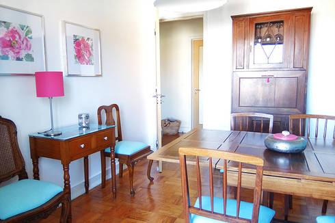 Casa de Jantar: Salas de jantar clássicas por maria inês home style