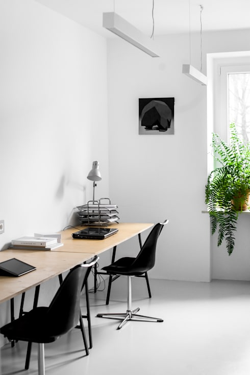 Study/office by Joanna Kubieniec
