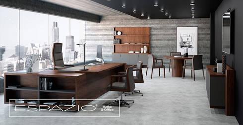 Gabinete Admnistrativo: Escritórios e Espaços de trabalho  por Espazio - Home & Office