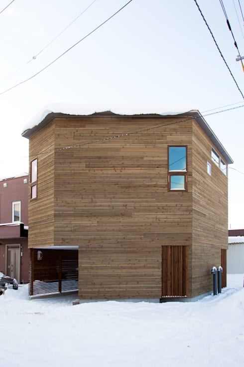 手稲山が望める家: 一級建築士事務所 Atelier Casaが手掛けた家です。