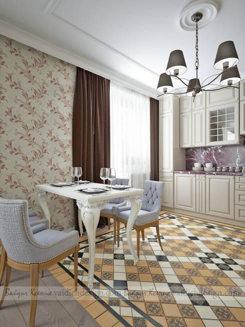 Cozinhas clássicas por ПЕРВАЯ ИНТЕРЬЕРНАЯ СТУДИЯ