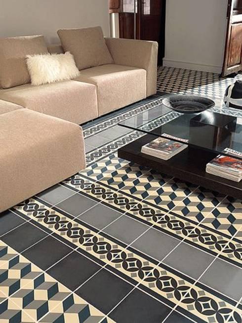 Walls & flooring تنفيذ Mosaic del Sur