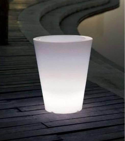 Macetas luminosas de led deco y design homify - Macetas luminosas ...