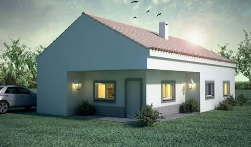 Moradia: Casas modernas por Maqet