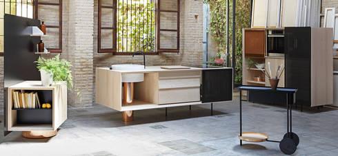 FLOAT by Miras Editions: Cocina de estilo  por Mas Natural Design Mx