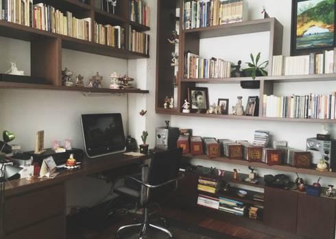 APARTAMENTO 67: Estudios y despachos de estilo ecléctico por santiago dussan architecture & Interior design