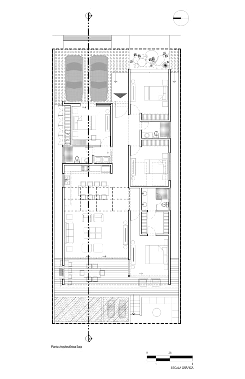 CASA MRE:  de estilo  por Imativa Arquitectos