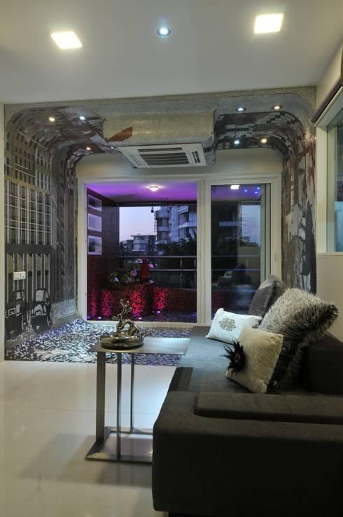 Salas multimedia de estilo moderno por Mybeautifulife