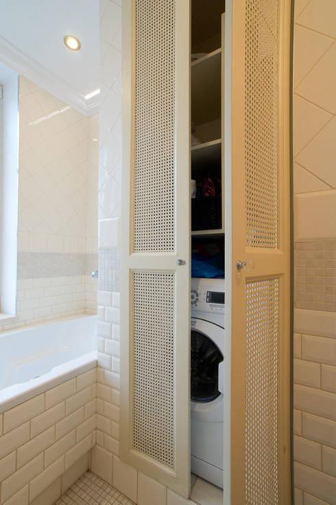 Miekszanie na Starówce: styl , w kategorii Łazienka zaprojektowany przez Gzowska&Ossowska Pracownie Architektury Wnętrz