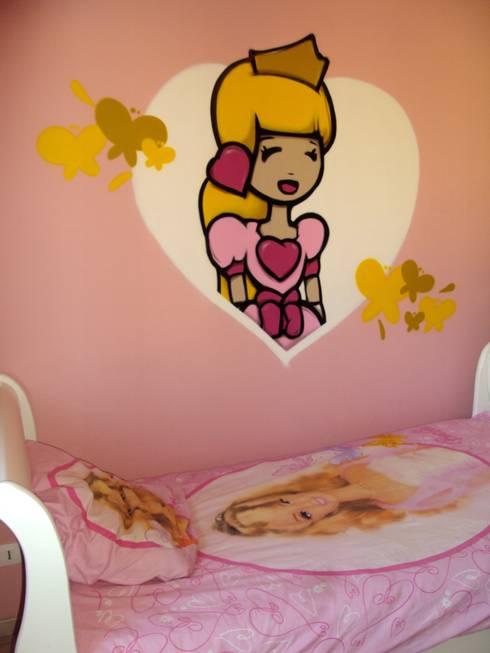 Chambres d'enfants: Chambre d'enfant de style  par collectif la coulure