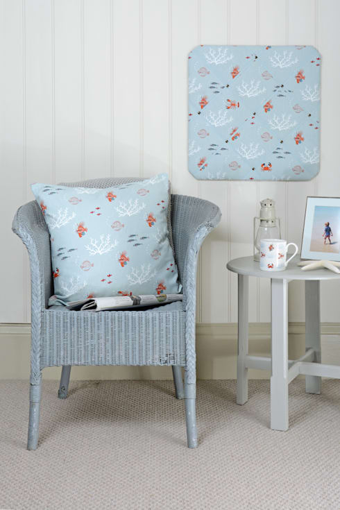 Sophie Allport 'What a catch!' Homewares:  Living room by Sophie Allport